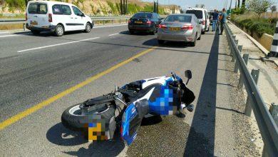 Photo of רוכב אופנוע בן 24 נהרג בכביש 79 סמוך לקריית אתא, לאחר שהחליק בכביש
