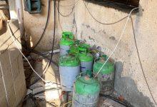 Photo of תושב בסמת טבעון החזיק בלב שכונת מגורים עשרות בלוני גז פירטיים ומסוכנים לשימוש