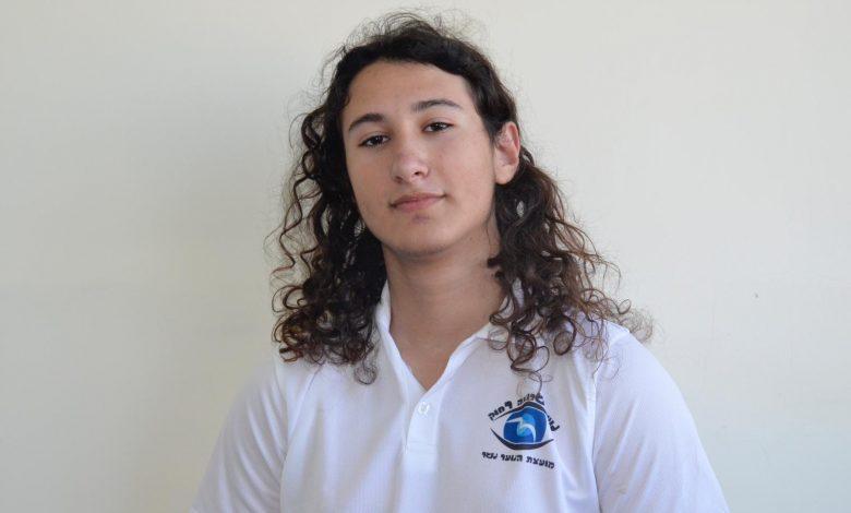 """Photo of עומרי אפק מנשר נבחר למזכ""""ל מועצת התלמידים והנוער המחוזית חיפה"""