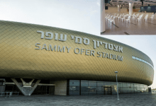 Photo of לא רק כדורגל, גם קדושה: אצטדיון סמי עופר הפך לבית כנסת ביום כיפור