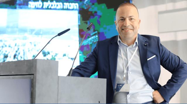 """מנכ""""ל החברה הכלכלית חיפה. אור שחף. צילום מיכה בריקמן"""