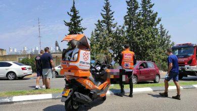 "Photo of הולכת רגל בת 40 במצב קשה לאחר שנפגעה מרכב ברחוב צה""ל בנשר"