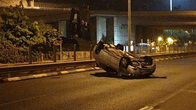 Photo of המשטרה עצרה הבוקר צעיר בן 18 מחיפה שגרם לתאונה תוך נהיגה בשכרות וללא רשיון נהיגה. הוא אף נמלט מהמקום