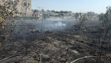 Photo of שריפות בחיפה סמוך לבתים ברחוב הגליל ושריפה אחרת סמוך לבתים בקריית אתא, בה הושגה שליטה