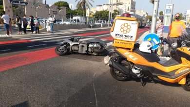 Photo of פצוע קשה בן 60 ועוד שני פצועים בתאונה בין רכב לשני אופנועים בצומת צבר