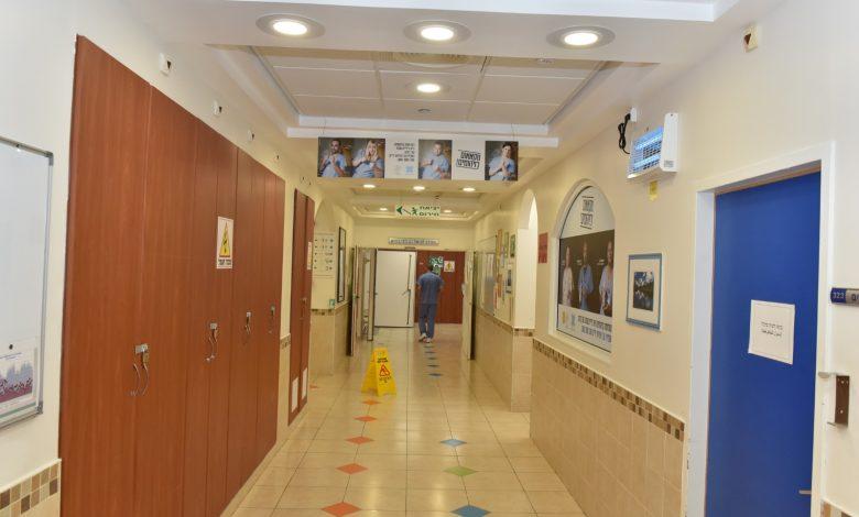 היחידה לטיפול נמרץ במרכז הרפואי לגליל צילום: אלי כהן