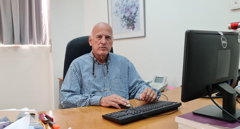 """ד""""ר עופר דרסלר, מנכ""""ל איגוד ערים אזור מפרץ חיפה להגנת הסביבה. צילום ניוזים"""