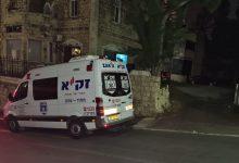 מוות נורא ברחוב נורדאו בחיפה. צילום זקא